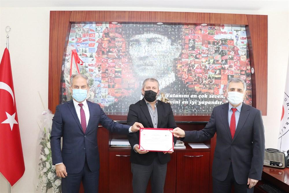 Sabuncuoğlu Şerefeddin Sağlık Hizmetleri Meslek Yüksekokulu  Sıfır Atık Yetki Belgesi Aldı